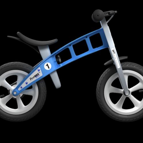 Bicicleta de equilibrio azul