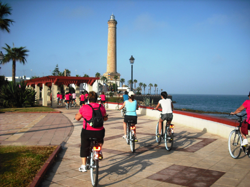 ruta bicicleta chipiona