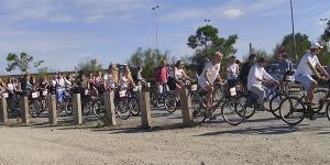 Grupo de ciclistas Costa Ballena