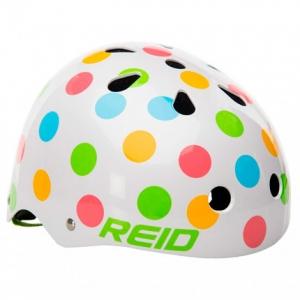 Casco para bicicleta lunares multicolor 2