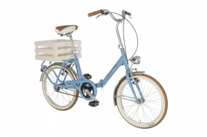 bicicleta plegable vintage