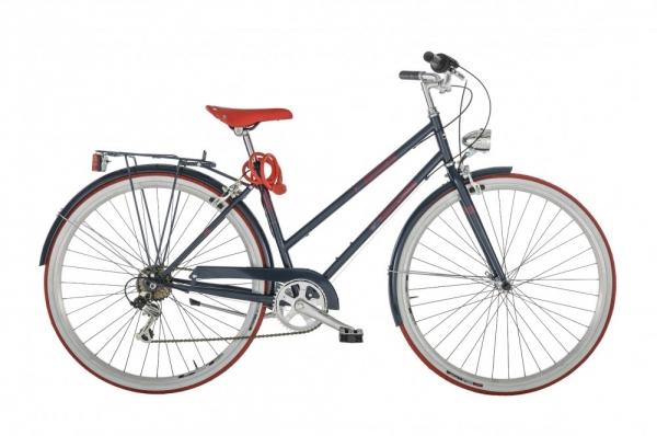 bicicleta retro mujer