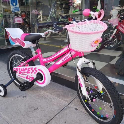 bicicleta niña con cesta