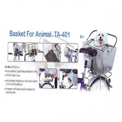 cesta para mascota
