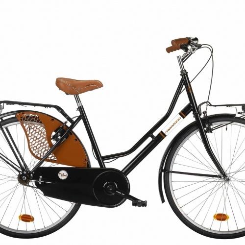 bicicleta de paseo clasica montana negro T226-L-C009