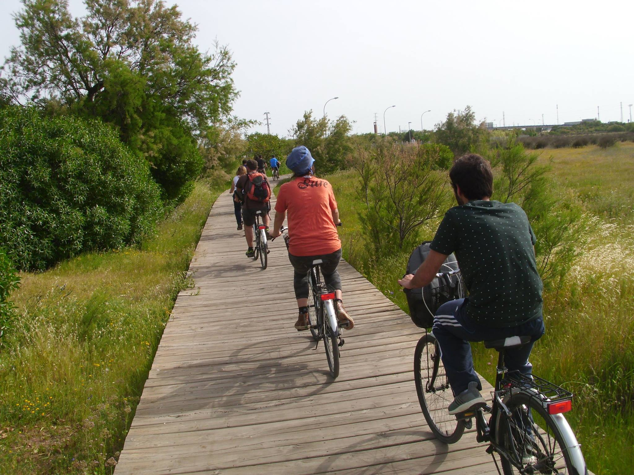 ruta en bicicleta chipiona