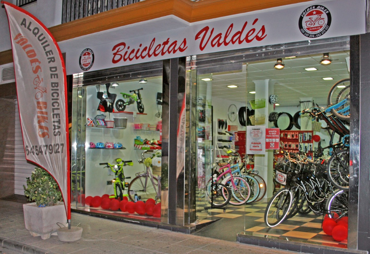 tienda de bicicletas en chipiona