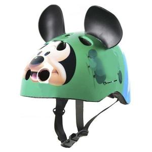 casco infantil verde-modelo-mickey