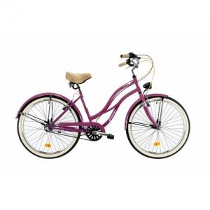 Bici cruiser mujer rosa