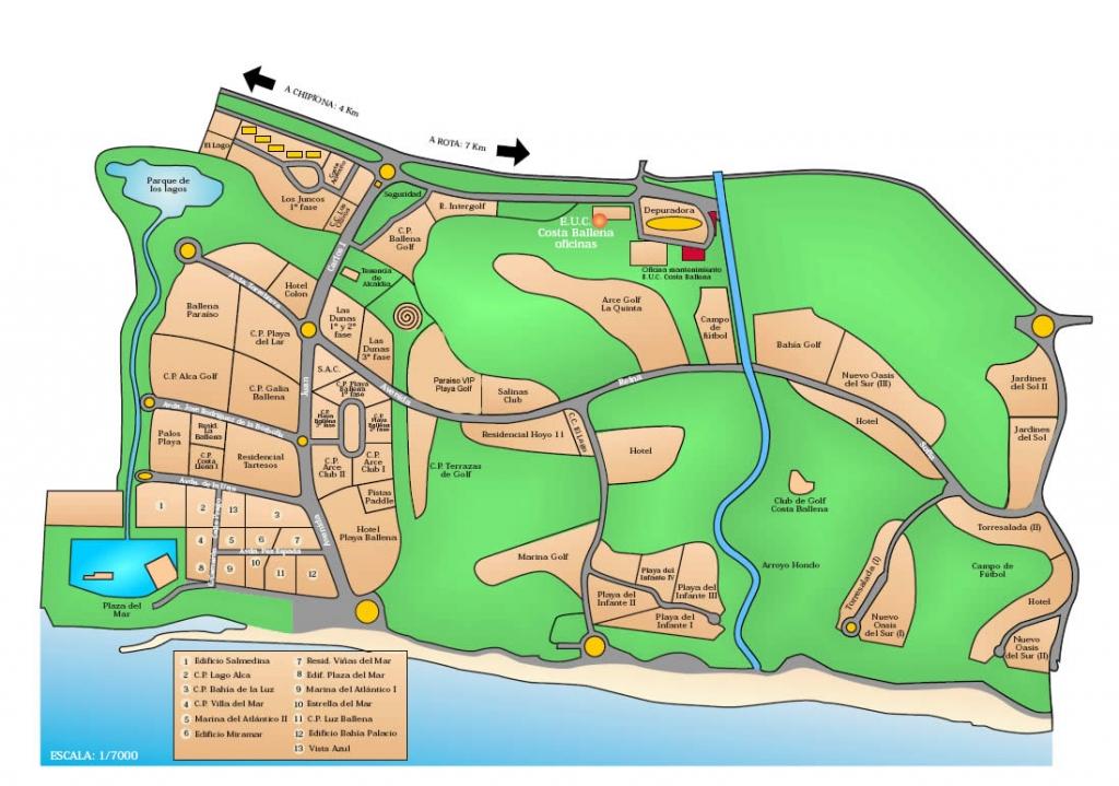 mapa costa ballena