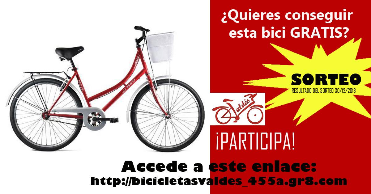 sorteo bicicleta