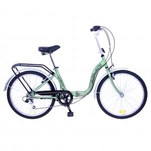 Bicicleta plegable 24 pulgadas
