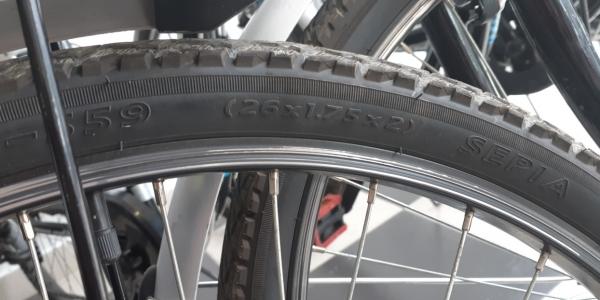 Presión de aire en ruedas de bicicletas