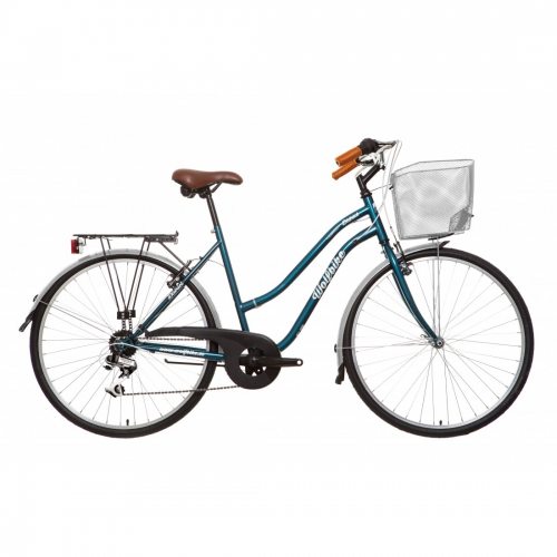 Bicicleta urbana con cesta