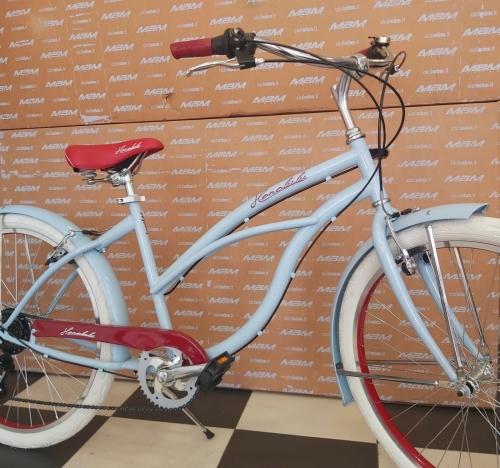 bicicleta cruiser americana