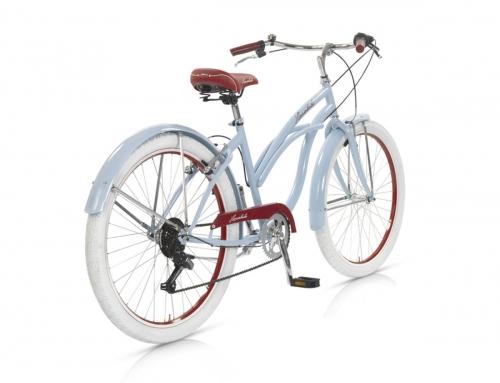 bicicleta cruiser playera celeste honolulu-