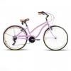 Bicicleta playera cruiser rosa