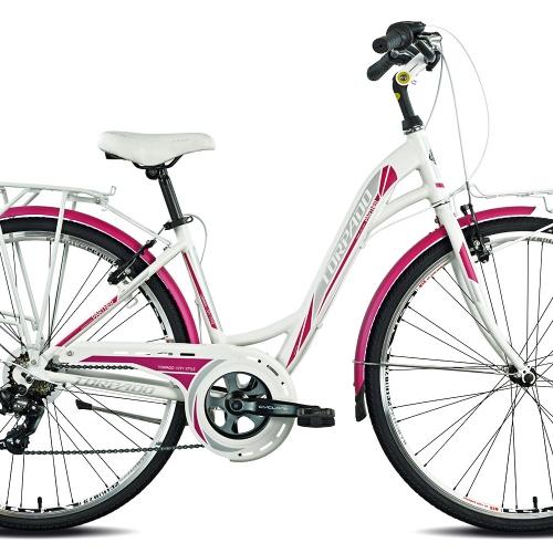 bicicleta urbana aluminio