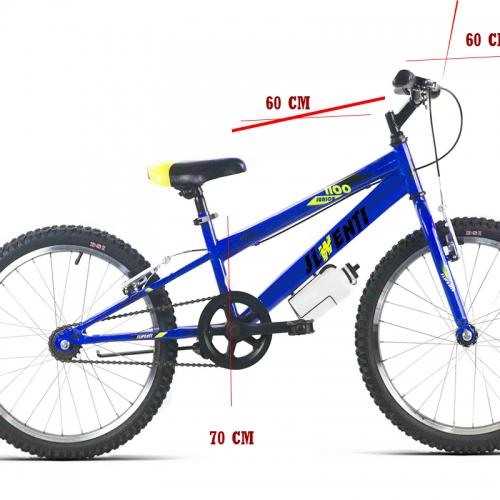 medida bicicleta 24 pulgadas