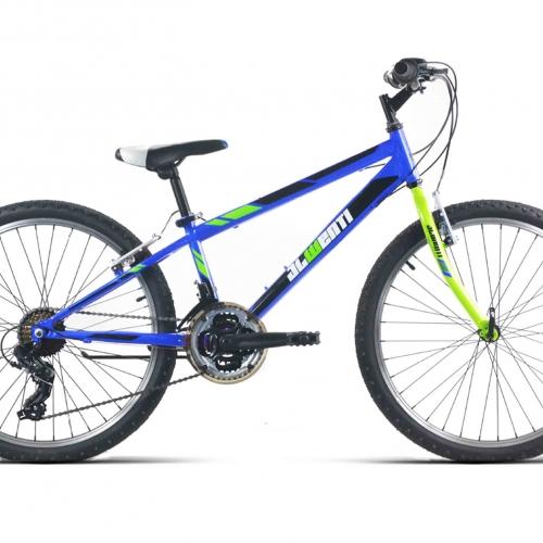 bicicleta niño 24 pulgadas MTB azul
