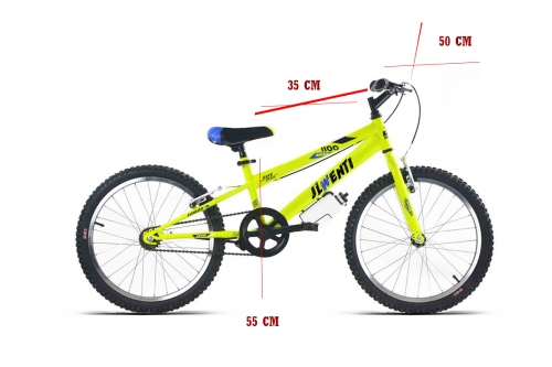 medidas bicicleta 20 pulgadas