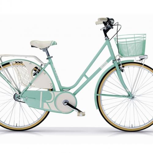 bicicleta clasica mujer color verde riviera