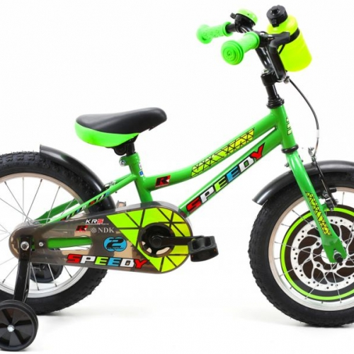 bicicleta 16 pulgadas verde