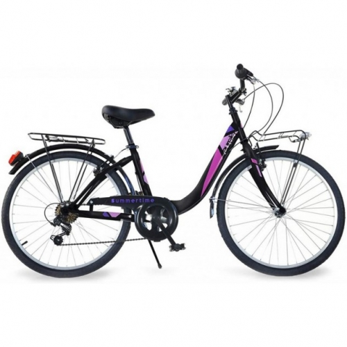 bicicleta 26 pulgadas color negro Aurelia