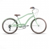 bicicleta cruiser barra alta
