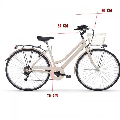medidas bicicleta urbana turing