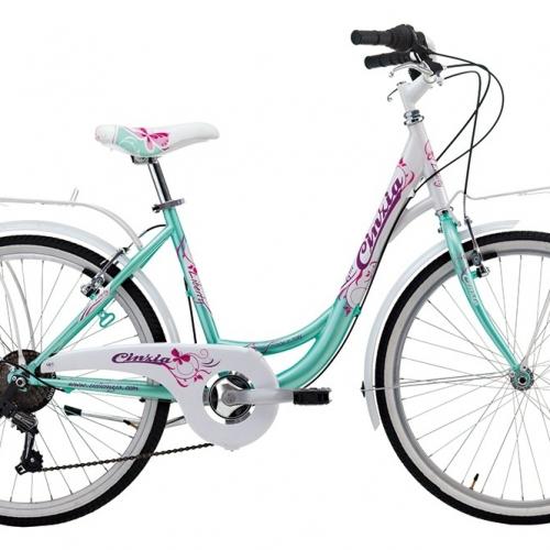 bicicleta de paseo 24 pulgadas niña cinzia