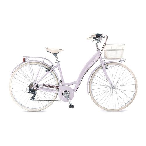 bicicleta clasica aluminio lila
